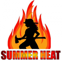 Logo for Summer Heat program