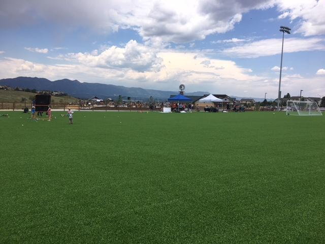 Open field at Venezia Park